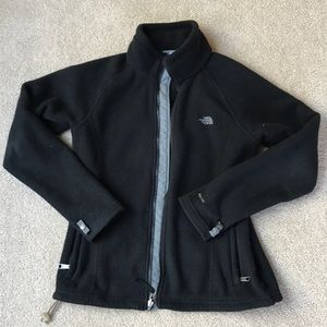 Women's medium North Face zip-up Fleece